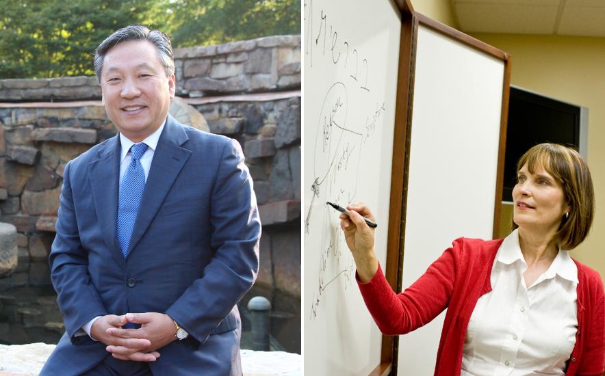 Image of Drs. David Han and Karen Winslow, Pentecostal Theological Seminary